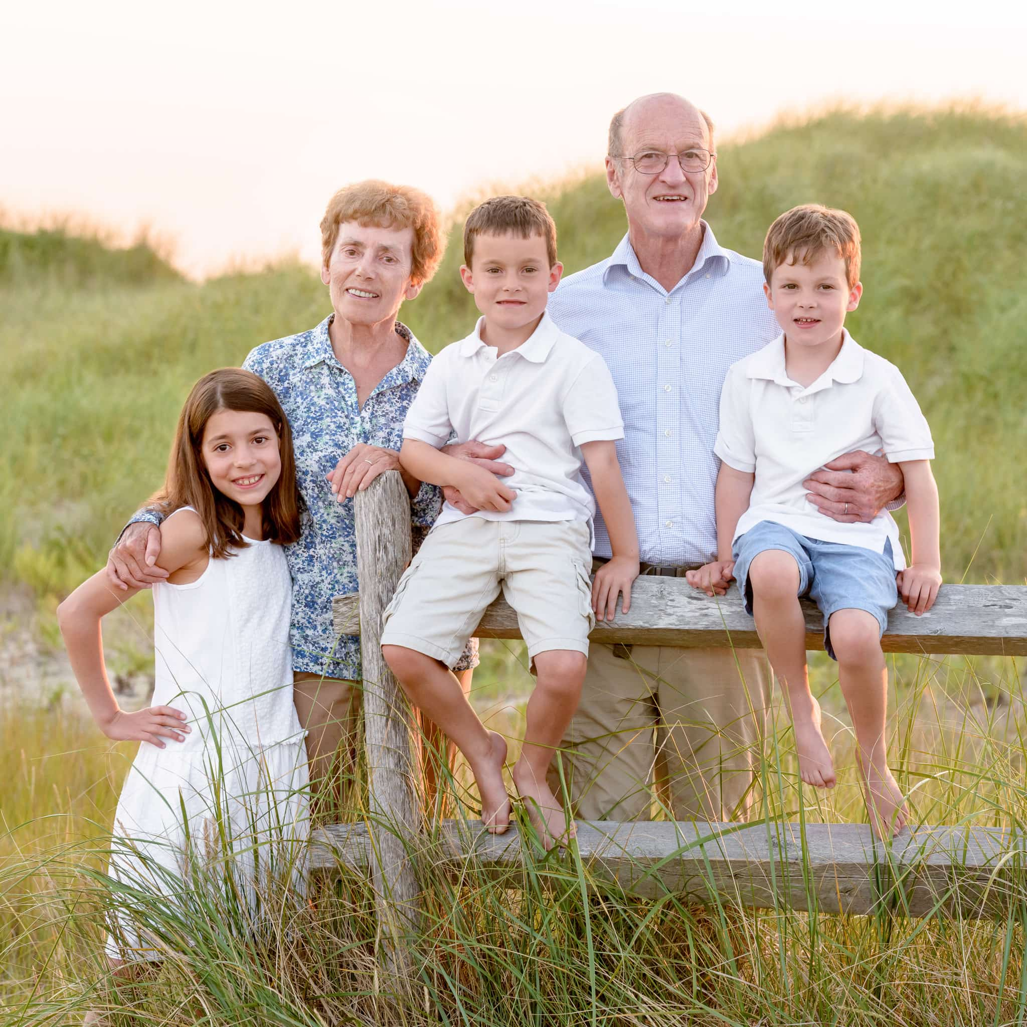 Cape Cod Family Portrait On The Beach While On Your Summer
